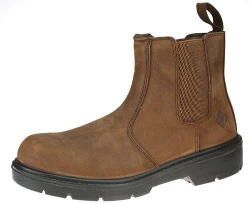 ET Safety I0020 Safety Brown Dealer Boots